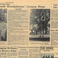 Hippie Trends Revolutionize Campus Dress UDK 7 1970