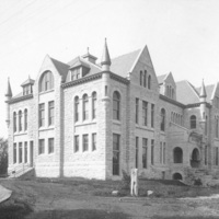 Snow Hall, dedicated in 1886