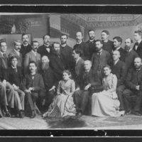 1890 Faculty group portrait