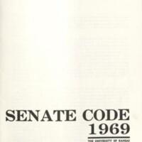 Student Senate Code 1969