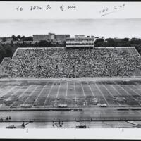 Day of Alternatives Photo of Students in Stands at Memorial Stadium