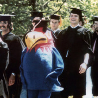 Baby Jay at Commencement, 1972