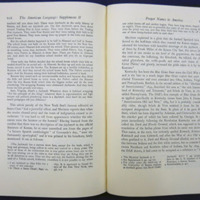 "<span style=""text-decoration: underline;"">The American language : an inquiry into the development of English in the United States</span>, Supplement II by H. L. Mencken, 1962"