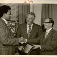 Michael G. Shinn received the Dean's Award for 4.0 GPA, M.B.A. Program, Case Western Reserve, 1972.
