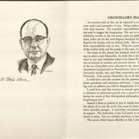Chancellor Wescoe's Inaugural Address