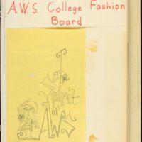 AWS Fashion Board scrapbook