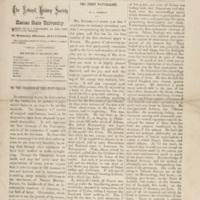 <em>Observer of Nature,</em>April 1, 1874,Vol. 1 No. 1