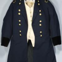 Chancellor Fraser's Civil War jacket and vest