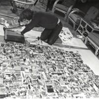 Student creates collage 1970/71