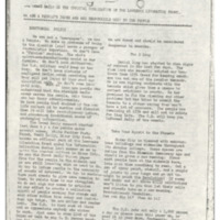 Oread Daily, underground newspaper published by the Lawrence Liberation Front