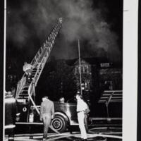 Firefighters work to put out Memorial Union fire