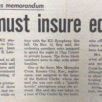 UDK Article regarding Chancellor Memo about Ensuring Student Equality