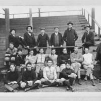 Football team photograph