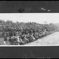 KU-Nebraska game, McCook Field, 1911.