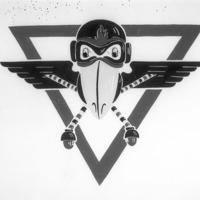 Jayhawk Plane Logo Entry for Jayhawk Flying Club Logo Contest, February 1945