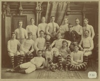 McGill University football team, including James Naismith