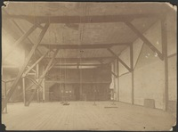 Interior of the gymnasium at Burnside Hall, McGill University