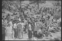 1970 Student Strike Day and Pleasure Day Photo of Gathered Students