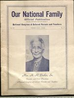 National Congress of Colored Parents and Teachers 1948 Publication