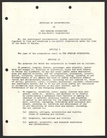 Articles of incorporation for the Spencer Foundation, August 10, 1949
