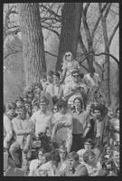 1970 Student Strike Day and Pleasure Fair Photo of Gathered Students