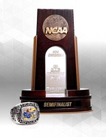 NCAA Semifinalist Trophy and Ring