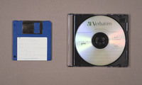Floppy Disc and Compact Disc