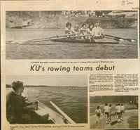 KU's rowing team debut
