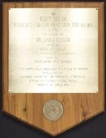 Emily Taylor plaque
