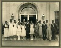 8th Grade Graduation Class, Monroe School, Topeka, KS, 1932.
