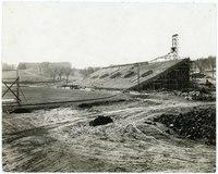 Stadium under construction, 1921