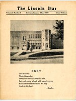 1950 Yearbook, Lincoln Elementary School, Atchison, Kansas.