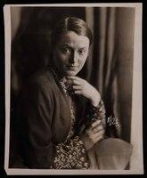 Photograph of Mary Huntoon taken at White Studio, Kansas City, Missouri.