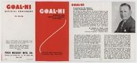 Goal-Hi Brochure, 1940/1941