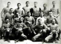 1891 Football Team - with Alonzo Stagg and James Naismith