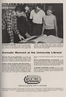 Spencer Chemical Company advertisement in the University of Kansas Alumni Magazine, October 1957