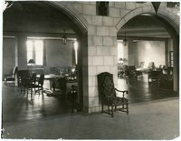The lounge, Kansas Memorial Union, 1929