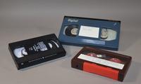 "<p>Video Home System (VHS) Tape</p><br /> <p>Betacam Videotape</p><br /> ¾"" U-Matic Videotape"
