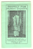 Respect for human dignity : an inaugural address