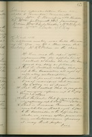 Minutes of the McGill University Athletic Association<br /> Entry for February 6, 1886