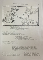 "Page featuring ""Three Blind Mice"" from <em>The Gee-Gee's Mother Goose</em>, 1912."