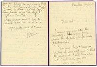 Robert Leigh Gilbert letter from Zette, June 18, 1919