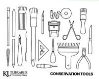 Coloring Page - Conservation Tools
