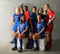Women's Soccer Team Photograph