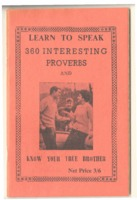 Learn to speak 360 interesting proverbs and know your true brother<br />