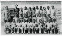 Cleveland Elementary School class, c. 1940s/1950s.