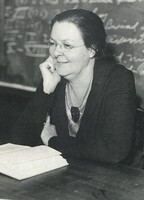 Professor Helen Hoopes, Rhetoric and English, 1914-1947