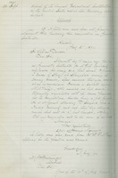 Minutes of the Board of Governors, McGill University <br /> Entry for September 26, 1890
