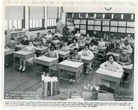 Mrs. Champine 5th Grade Class at Parkdale School, February 15, 1961.