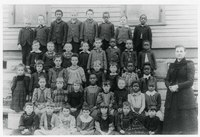 Lowman Hill School in Topeka, KS, 1892.